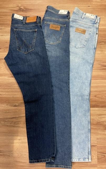 Wrangler Jeans Larston stone/midstone/bleached