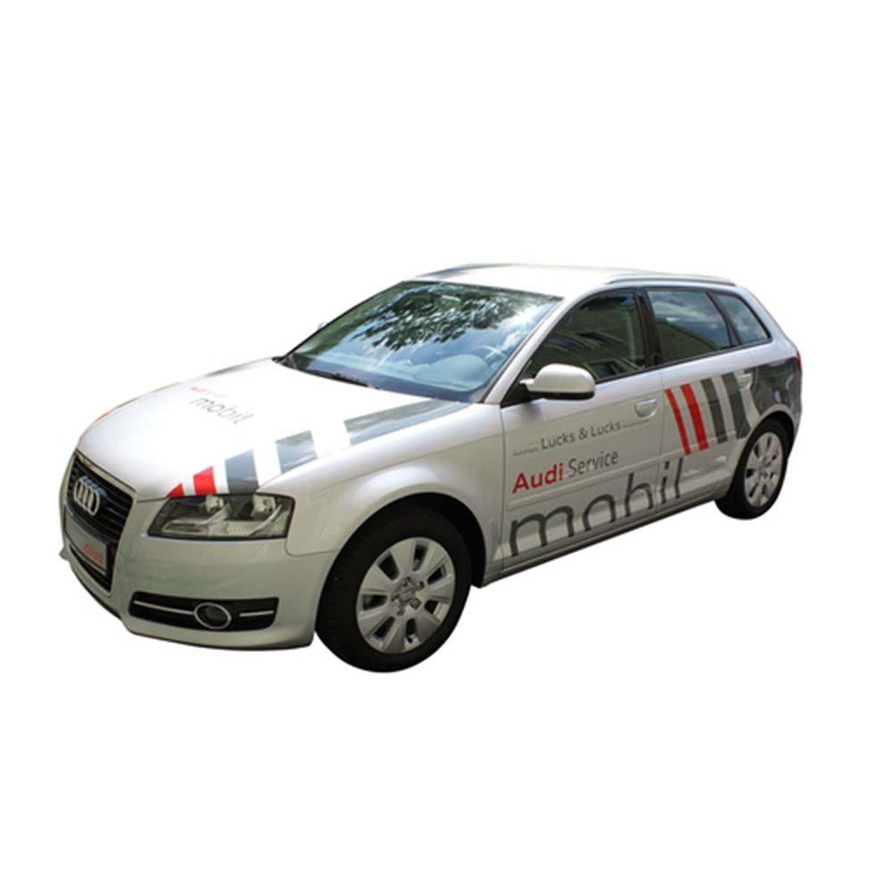 Audi-Beschriftung